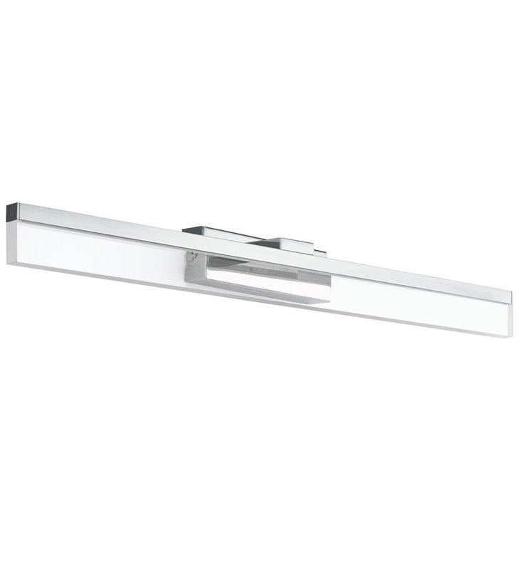 Podłużna lampa łazienkowa nad lustro Palmital LED chrom ciepła barwa światła