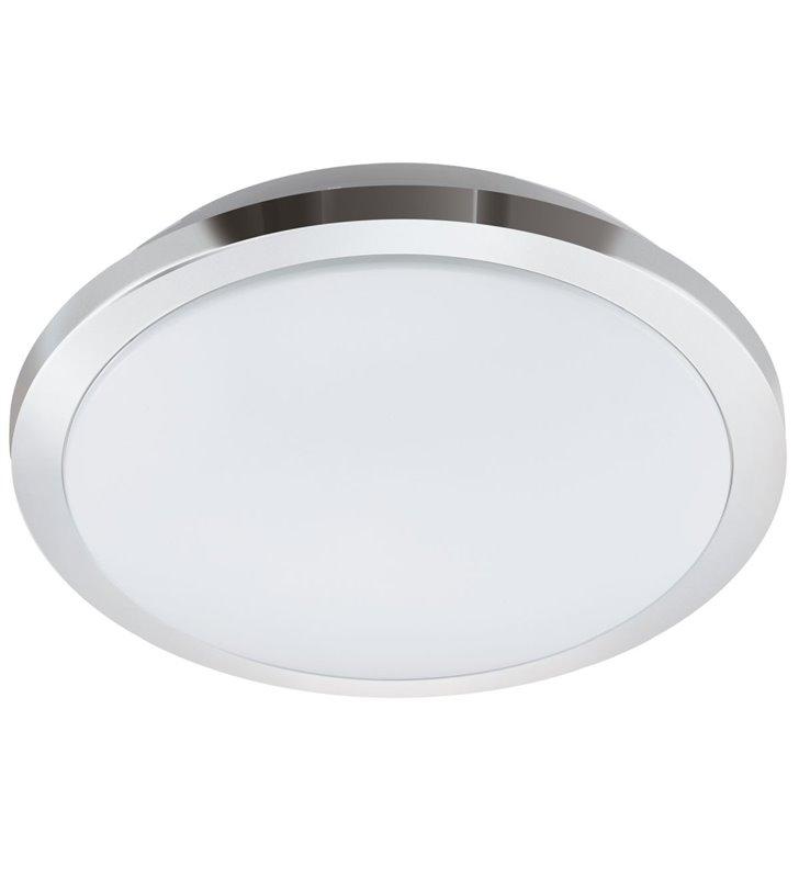 40cm plafon do łazienki Competa 1-ST LED chrom możliwość ściemniania zmiana barwy światła włącznikiem ściennym