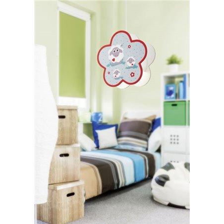 Lampa wisząca Lalelu do pokoju dziecka z owieczkami