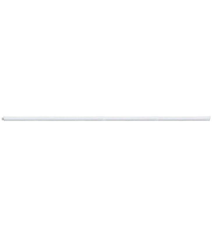 Długa liniowa listwa podszafkowa Dundry naturalna barwa światła LED ponad metr długości