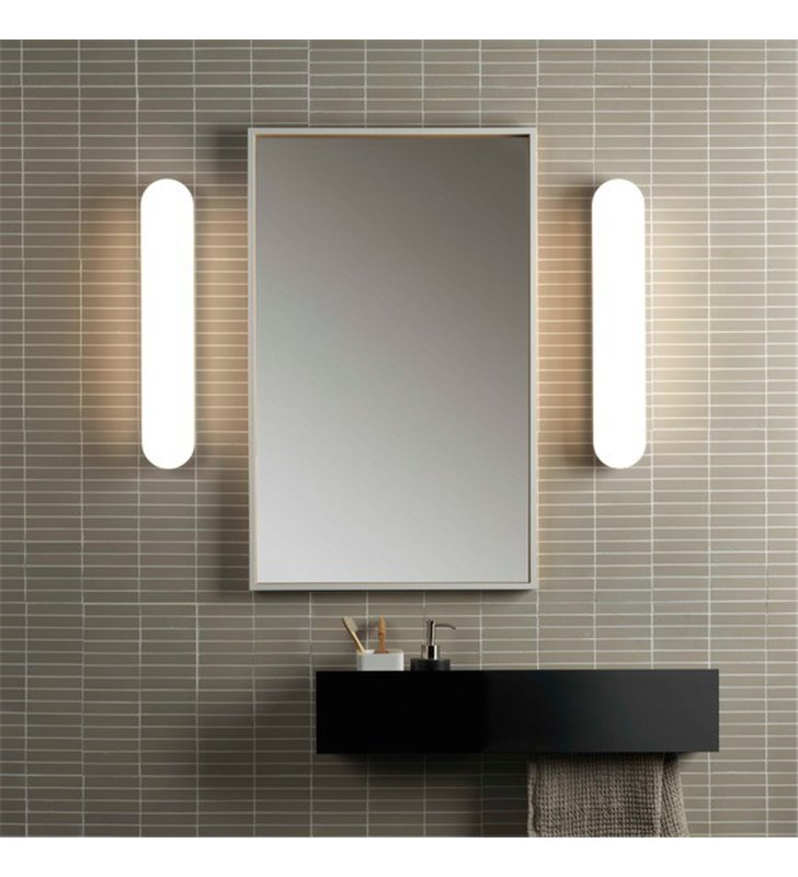 lampy łazienkowe pionowe klinkiety