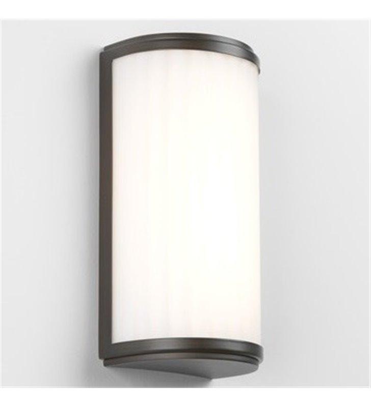 Brązowa ścienna lampa do łazienki Monza LED