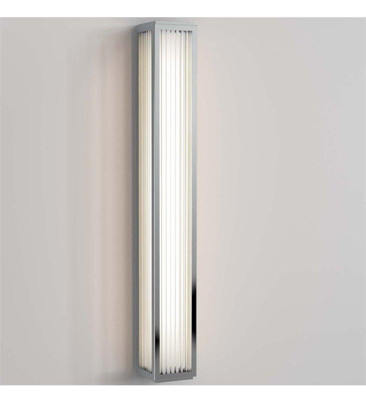 Podłużny kinkiet łazienkowy Boston prostokątny LED 61cm