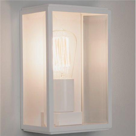 Biała lampa łazienkowa Homefield oświetlenie lustra