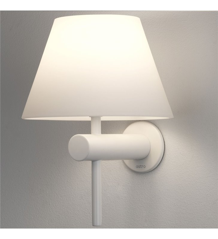 Kinkiet do oświetlenia lustra w łazience Roma IP44 biały