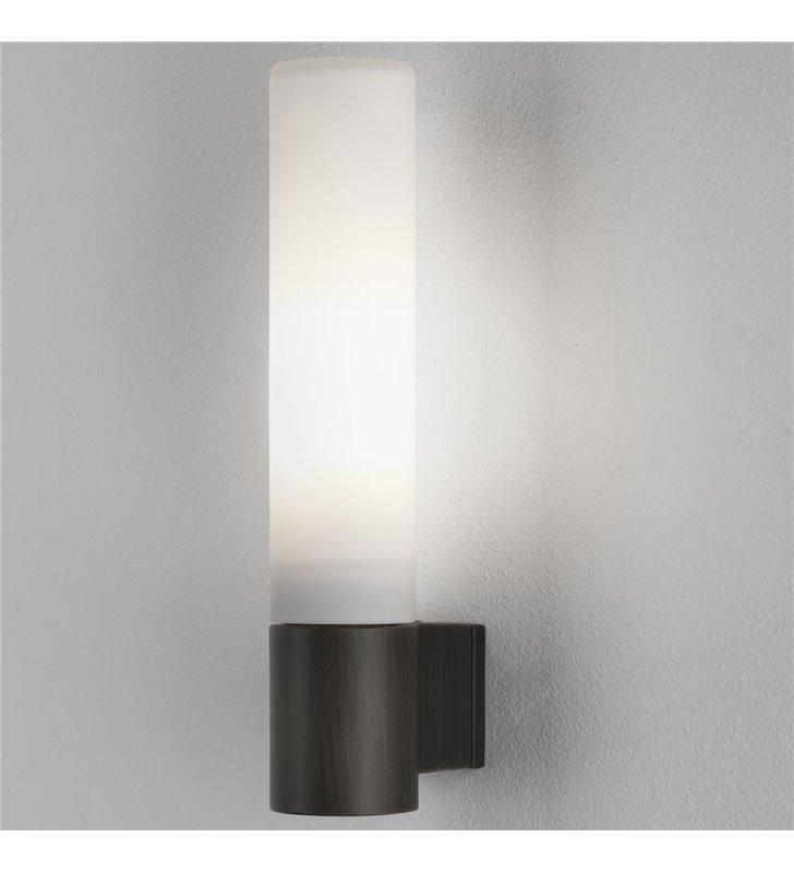 Kinkiet łazienkowy do lustra Bari brązowy IP44 możliwość ściemniania