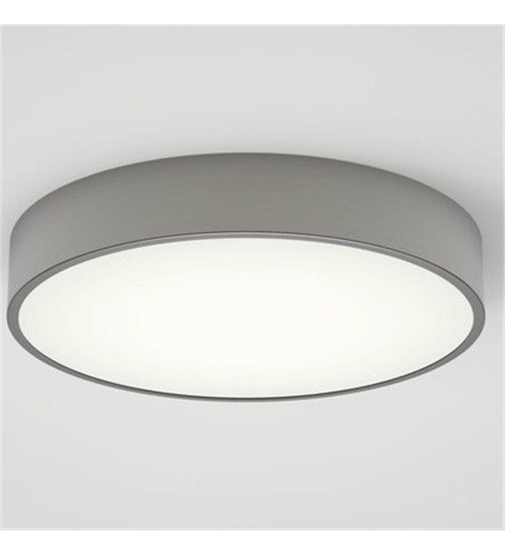 Okrągły plafon do łazienki Mallon 33cm LED nikiel mat