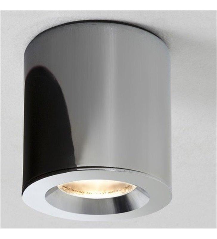 Oprawa łazienkowa downlight Kos Round chrom IP65 ściemnialna