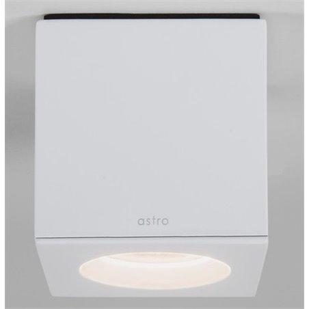 Lampa łazienkowa typu downlight biała kwadratowa Kos Square ściemnialna IP65