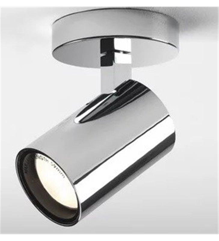 Łazienkowa lampa ścienno sufitowa Aqua chrom