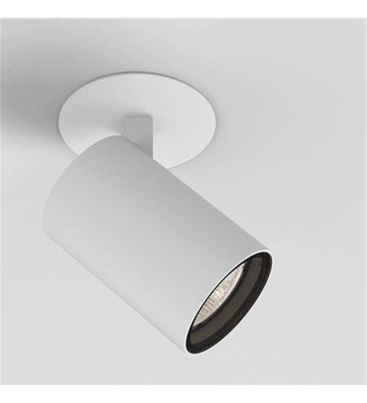 Biała oprawa łazienkowa do wbudowania Aqua IP44