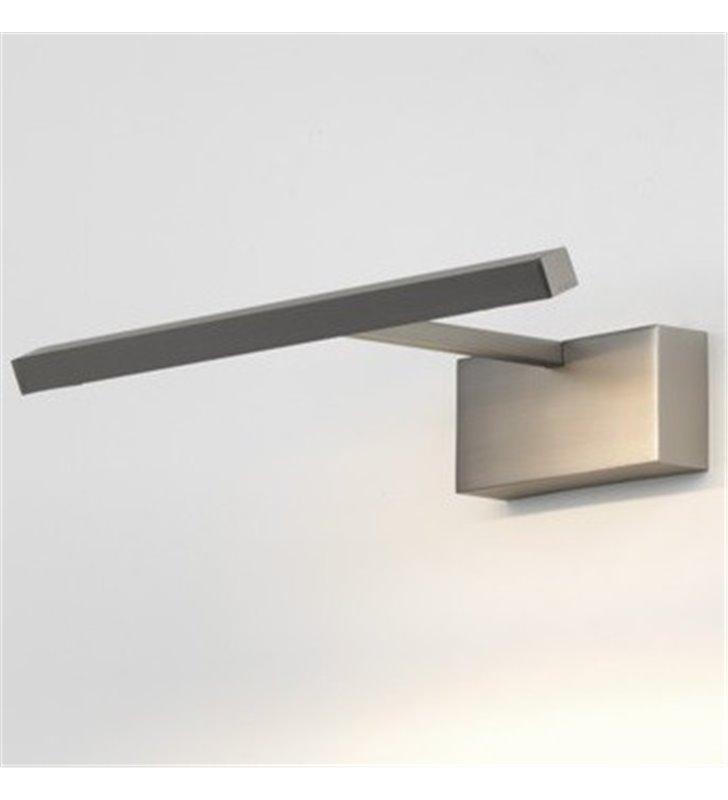Lampa Mondrian nikiel mat do oświetlenia obrazu 30cm 2700K
