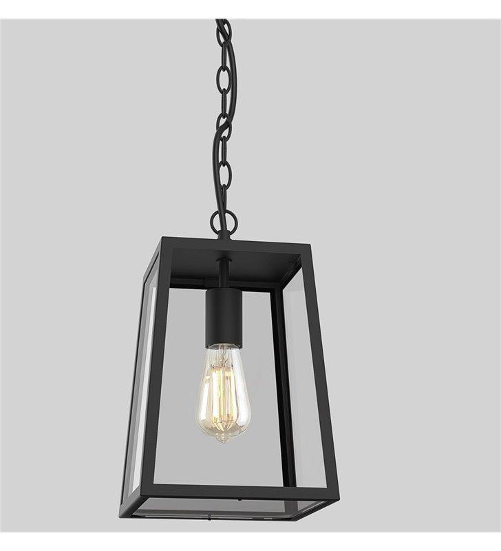 Lampa wisząca ogrodowa Calvi czarna