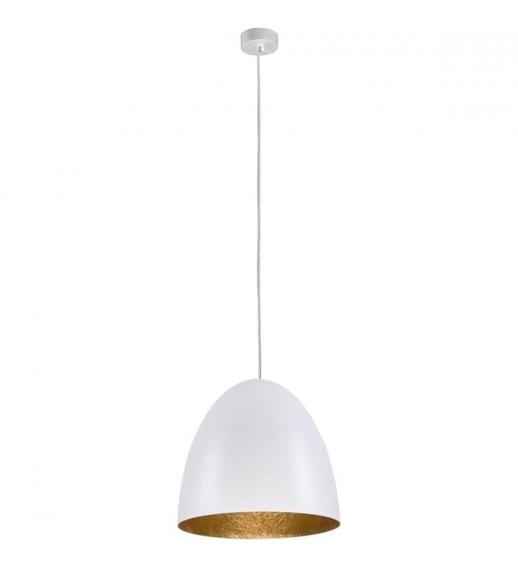 Nowoczesna biała lampa...