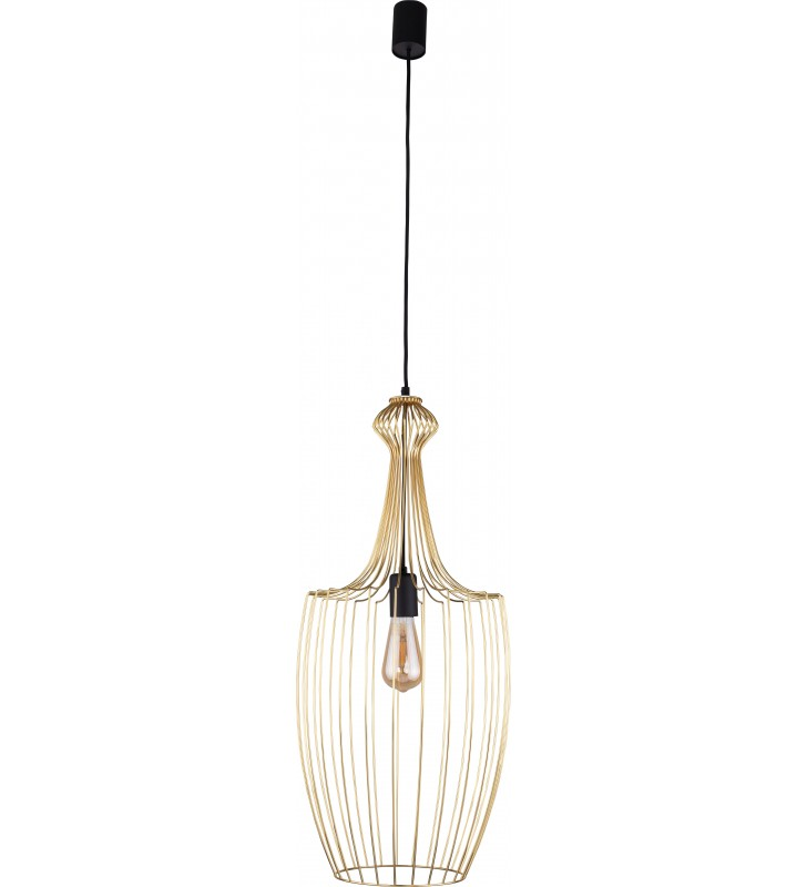 Druciana lampa wisząca...