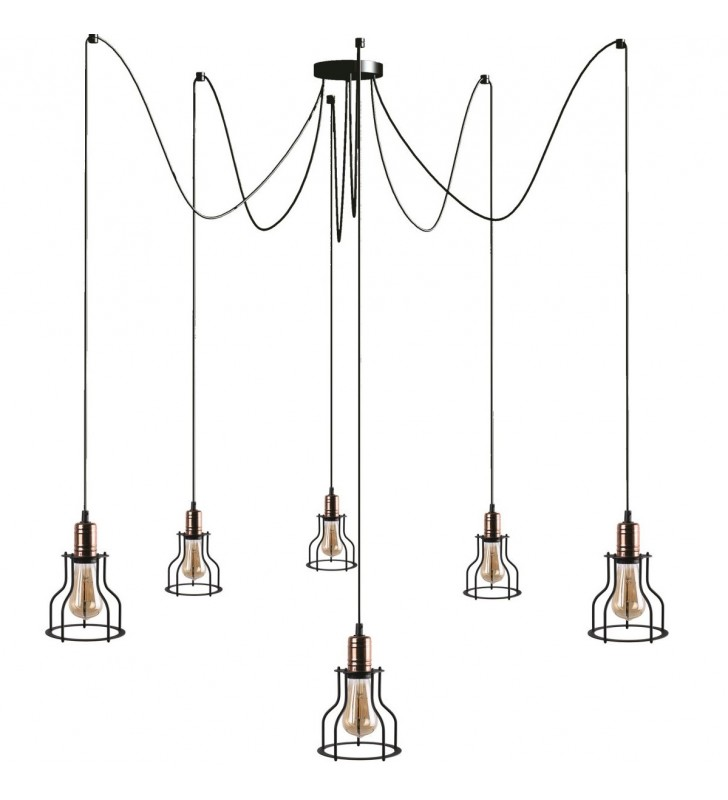 Lampa wisząca loftowa...