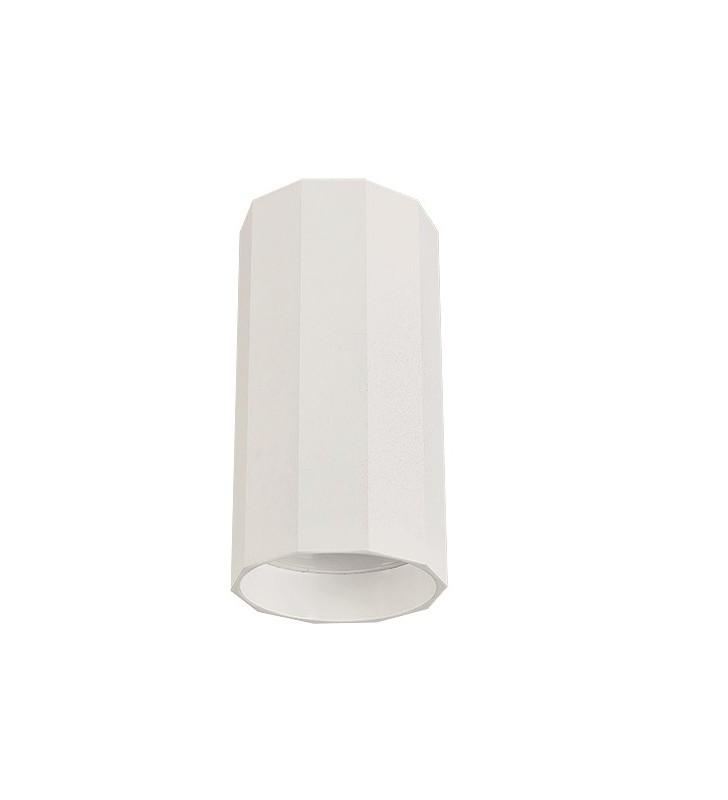 Biała mała lampa natynkowa...