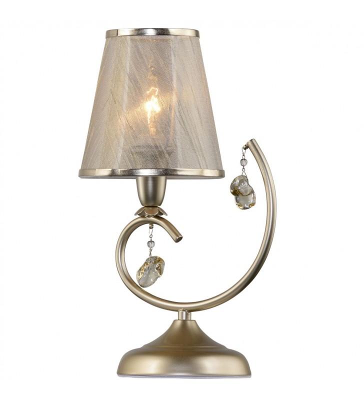 Złota lampa stołowa Amarti...