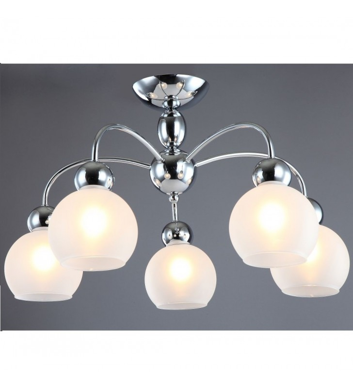 Krótki żyrandol lampa...