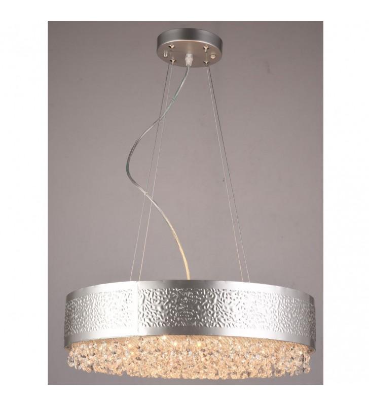 Kryształowa lampa wisząca...