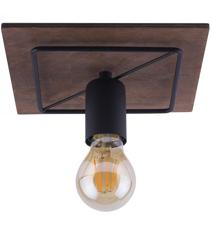 Mała kwadratowa lampa...
