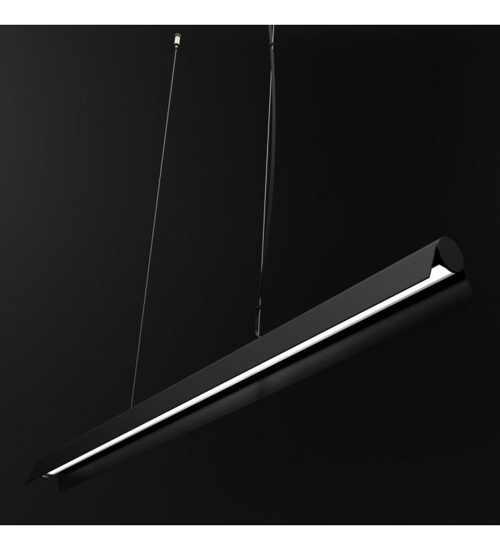 Lampa wisząca A LED czarna...