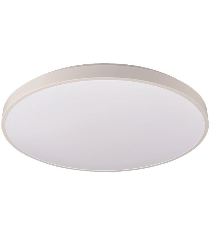 48cm okrągły biały plafon...