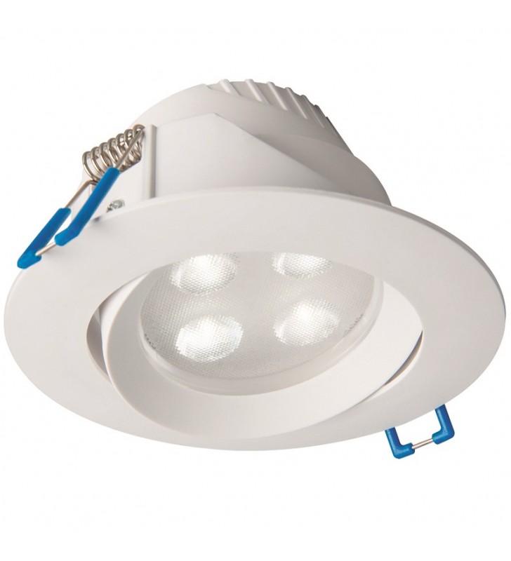 Biała lampa łazienkowa do...