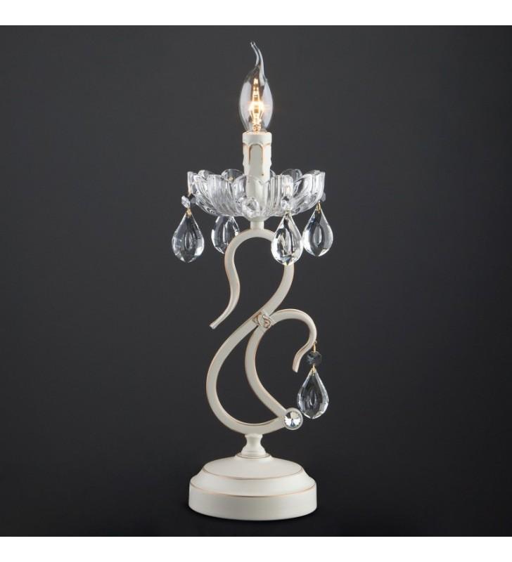 Świecznikowa lampa stołowa...