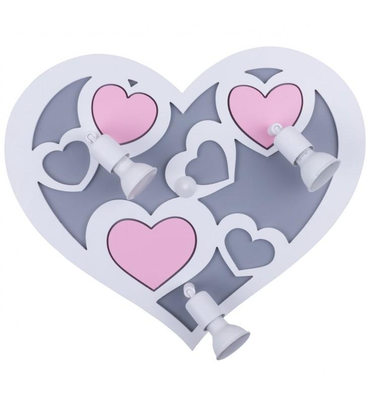 Kinkiet lampa ścienna Heart...