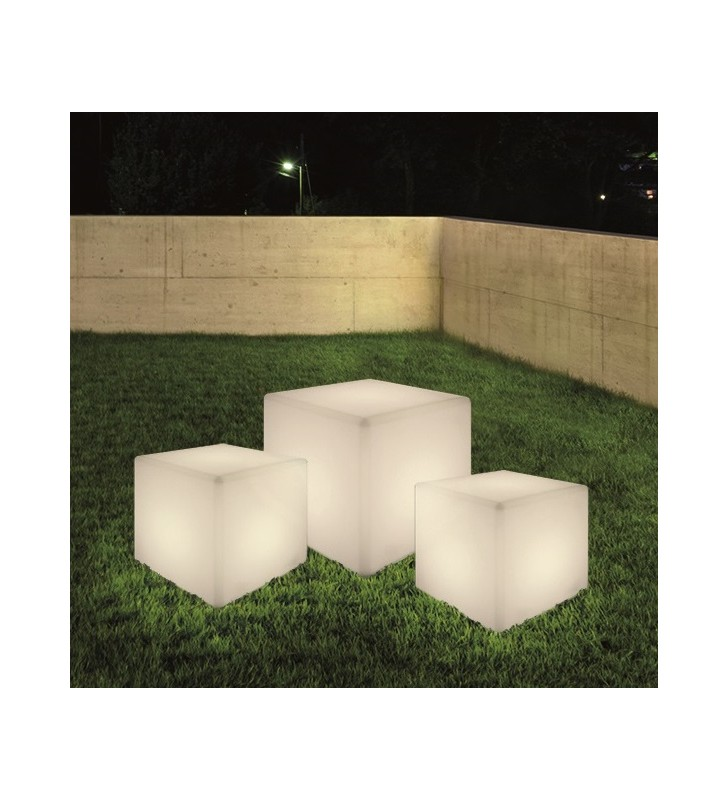 Lampa ogrodowa Cumulus Cube...
