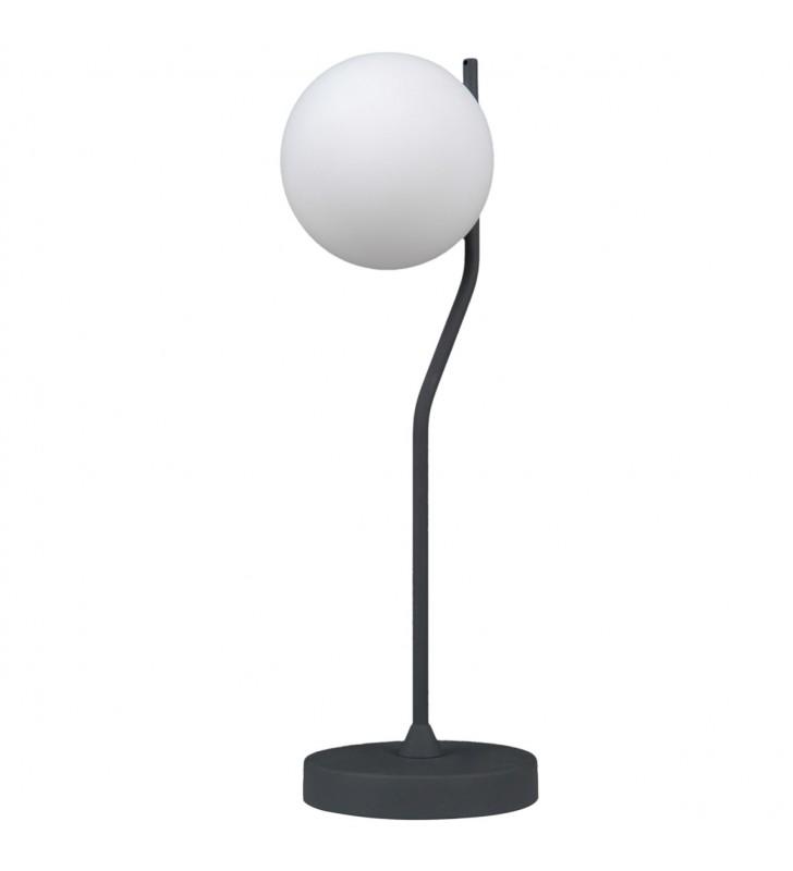 Lampa stołowa Carimi czarna...