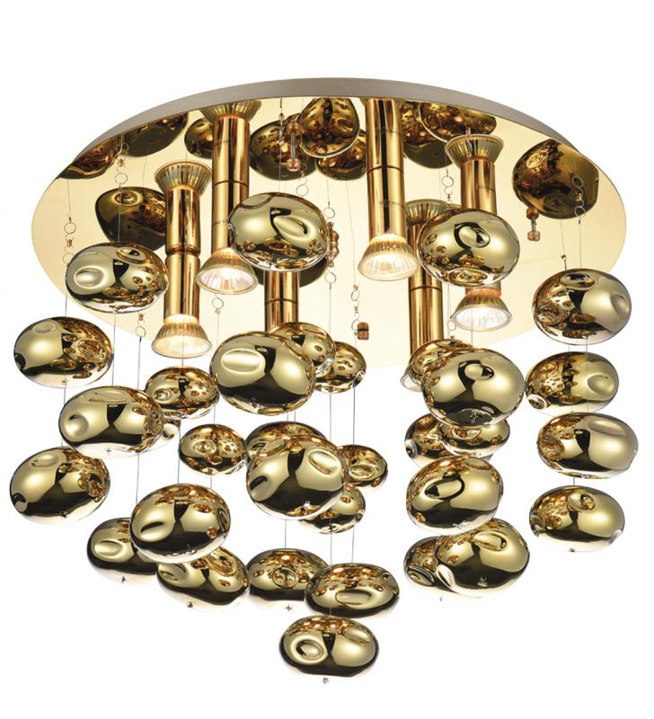 Złoty dekoracyjny stylowy...