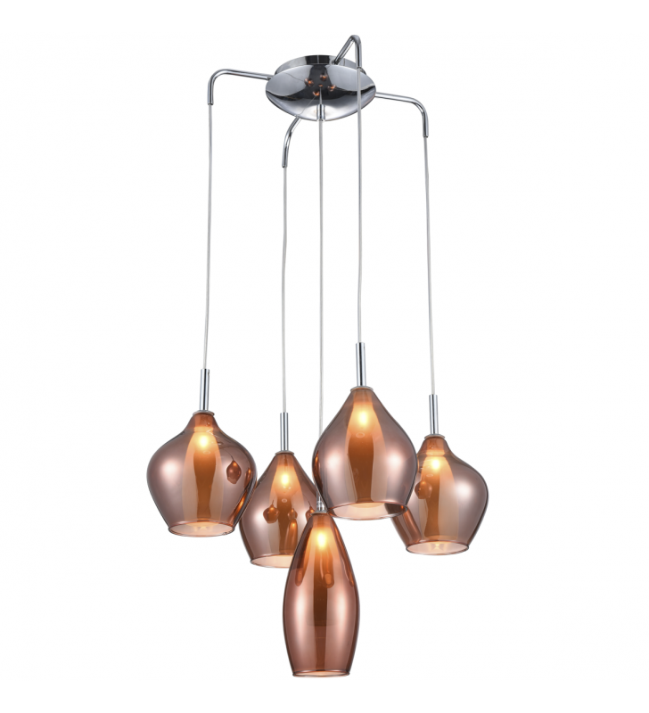 Stylowa 5 zwisowa lampa...