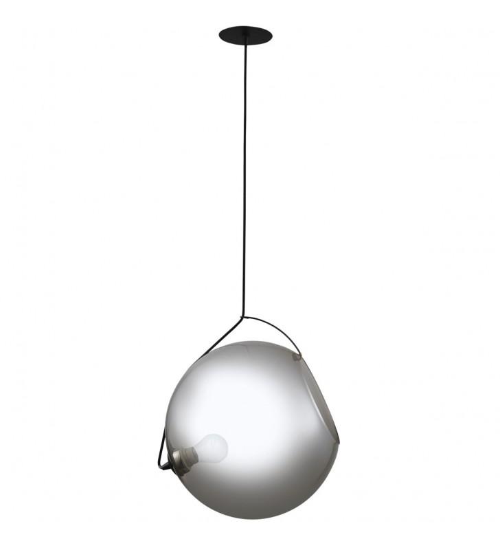 Nowoczesna szklana lampa...