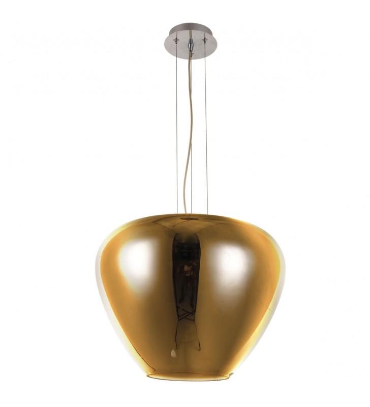 Szklana nowoczesna lampa...