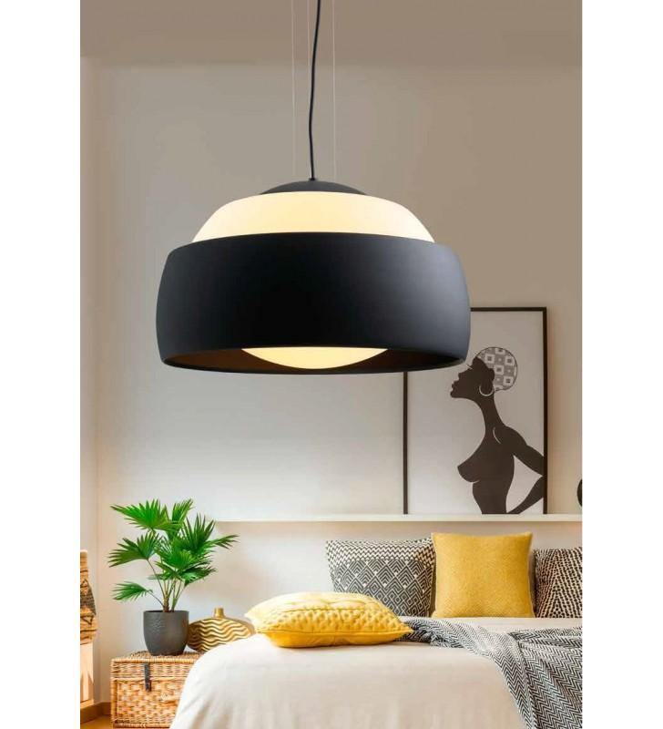 Lampa wisząca Genoa czarna...