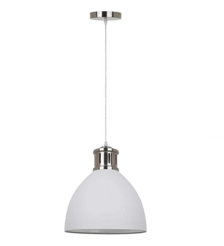 40cm okrągła biała lampa...