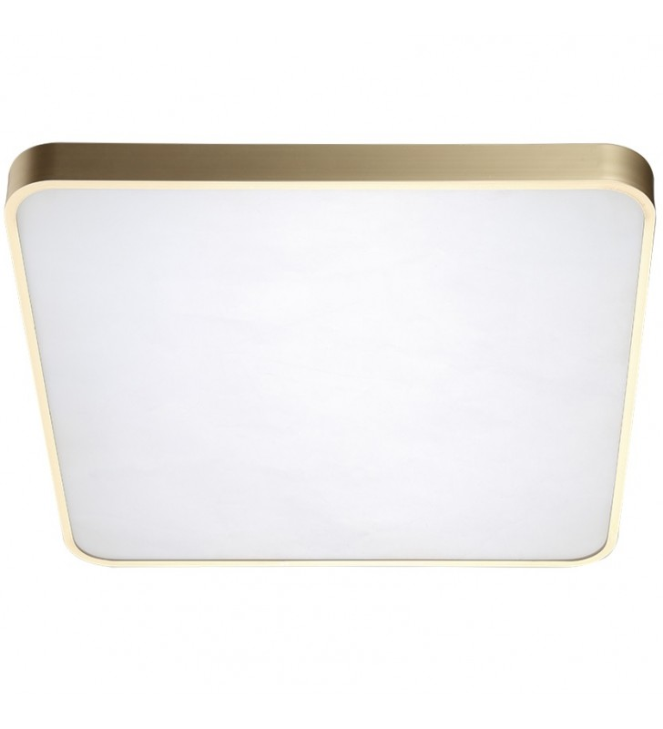 Złoty nowoczesny kwadratowy...