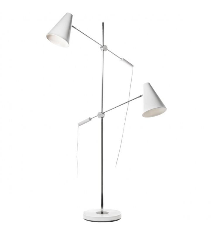 2 punktowa biała lampa...