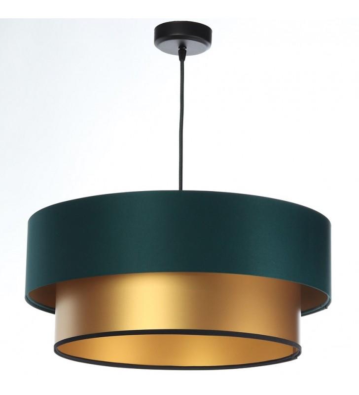 Zielono złota 50cm lampa...