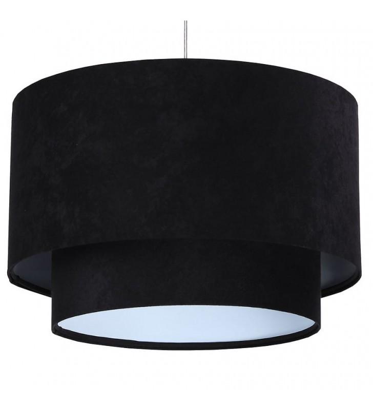 Czarna lampa wisząca Zara...