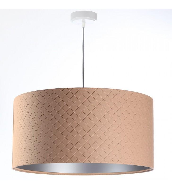 Łososiowa lampa wisząca ze...