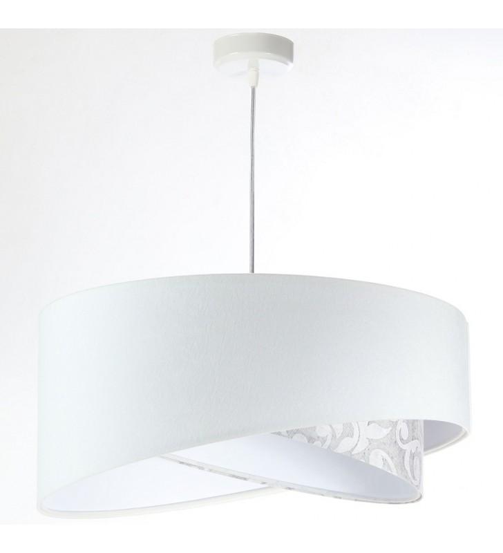 Lampa wisząca Vera biała ze...
