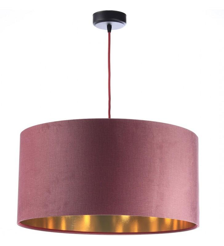 Lampa wisząca z abażurem...