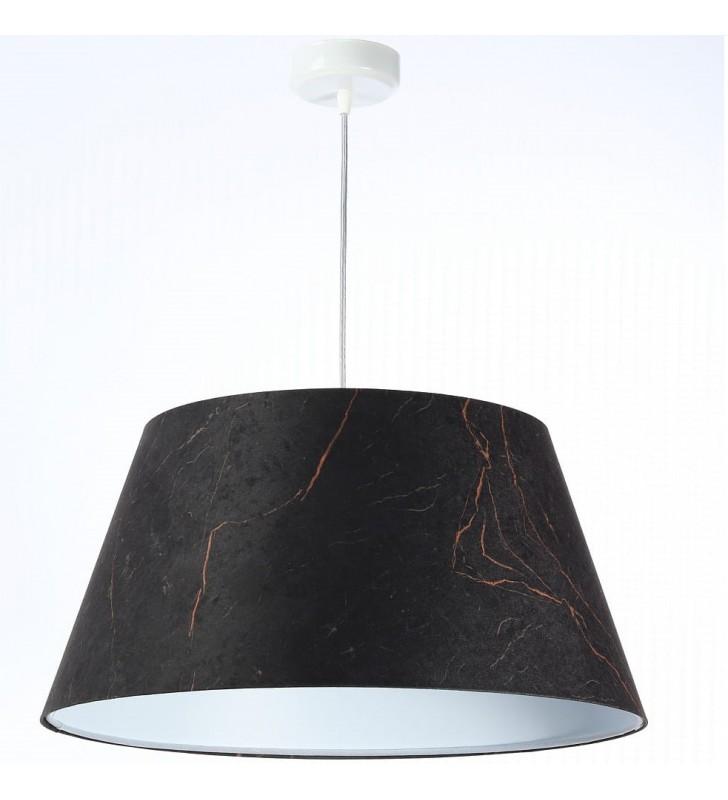 Lampa wisząca Magma czarno...
