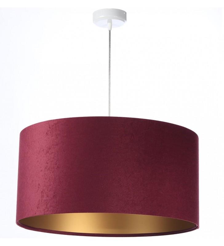 Purpurowa lampa wisząca...