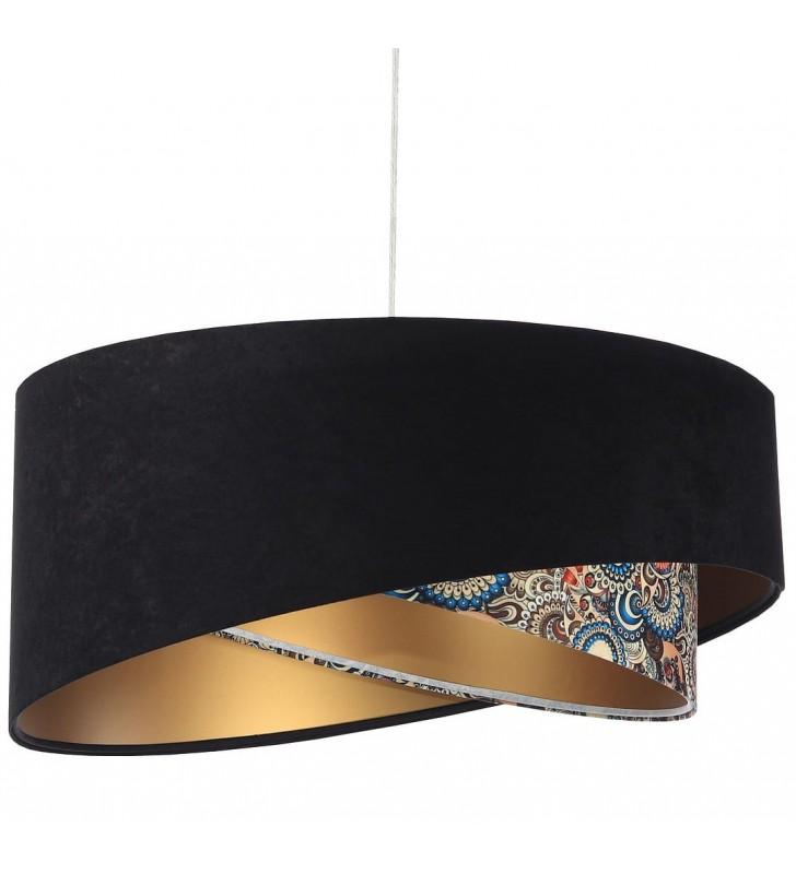Asymetryczna lampa wisząca...