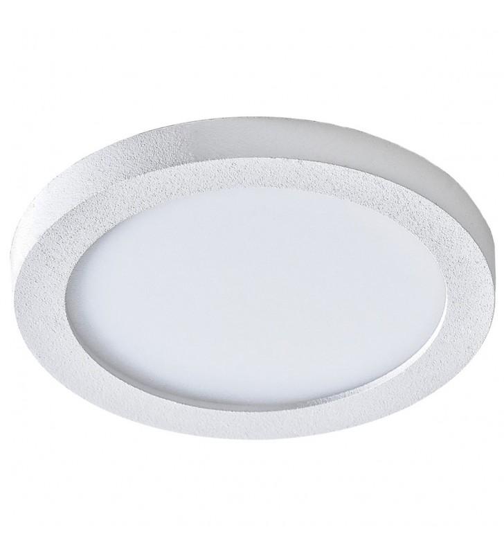Okrągła biała łazienkowa...