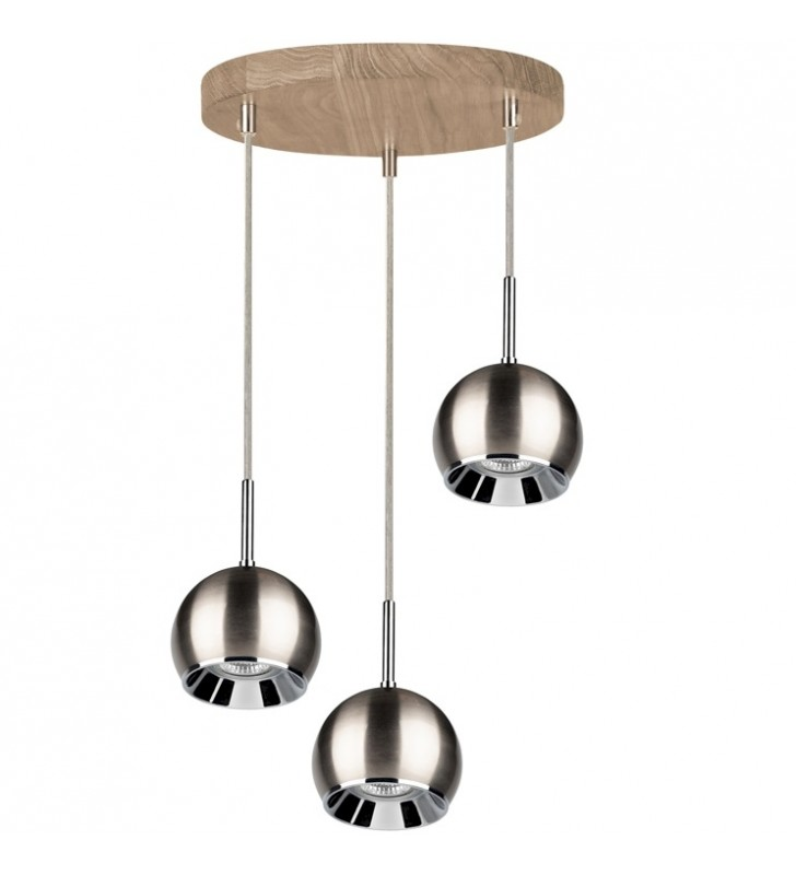 Lampa wisząca Ball Wood...